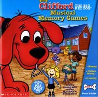 New Selectsoft Publishing Clifford Musical Memory Games Compatible With Windows & Macintosh