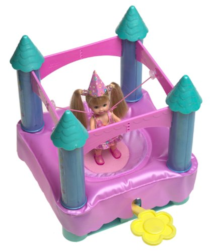 Barbie Kelly Jumpin' Fun Castle - Buy Barbie Kelly Jumpin' Fun Castle - Purchase Barbie Kelly Jumpin' Fun Castle (Mattel, Toys & Games,Categories,Dolls,Playsets)