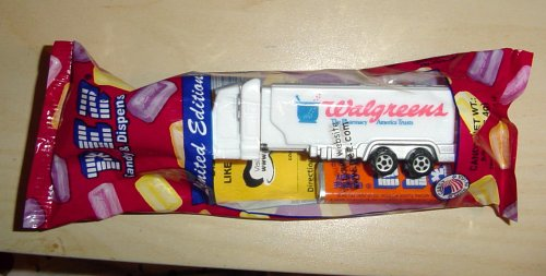Walgreens Truck Pez - Limited Edition - 1