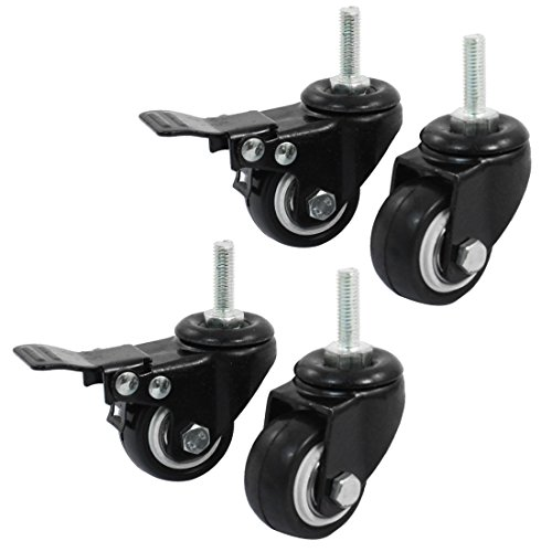 sourcingmap-a14071600ux0660-15-inch-shopping-wheel-trolley-brake-swivel-caster-black-4-pieces