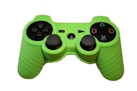 PS3 Controller Silicon Sleeve Protector - Green