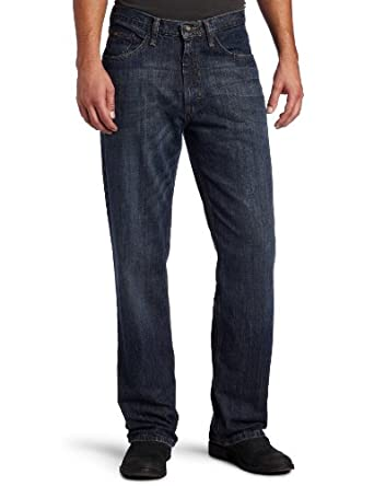 Lee Men's Premium Select Relaxed Fit Straight Leg Jean, Calypso Wiskered, W36xL30