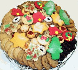 Christmas Large Cookie Tray