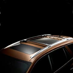 Buy GM # 12499978 Roof Rack Cross Rail Package - Black Rails with Chrome End Cap by GM