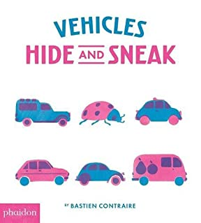 Book Cover: Vehicles Hide and Sneak