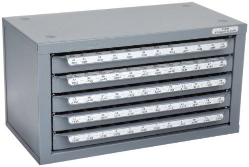 Huot Five-Drawer Drill Bit Dispenser Cabinet for Jobber Length ...