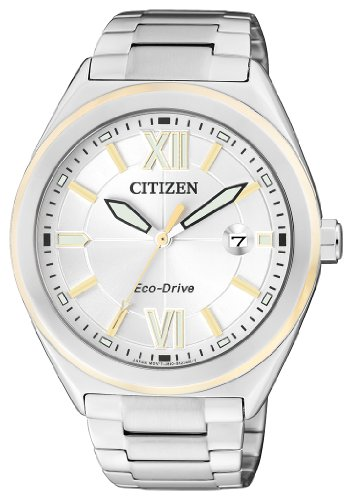 Citizen Women's Quartz Watch AW1174-50A with Metal Strap