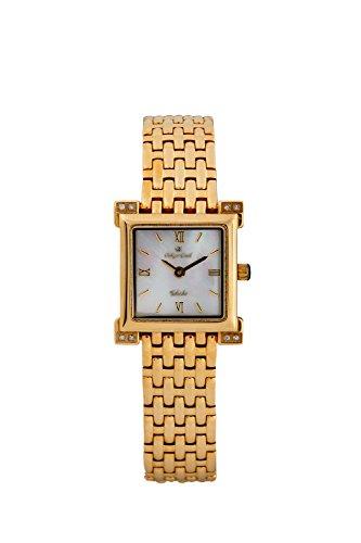 Oskar-Emil Classic Watches - Toledo Gold - Montre Femme - Quartz - Analogique - Bracelet Acier inoxydable doré