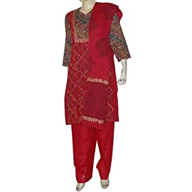 Womens Comfortable Clothing Cotton Printed Salwar Kurti Size M (slk424)