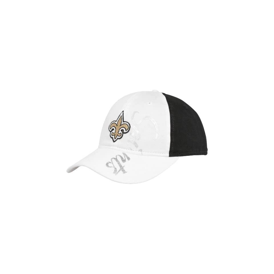 08632cc046e Reebok New Orleans Saints Ladies White Black Slouch on PopScreen