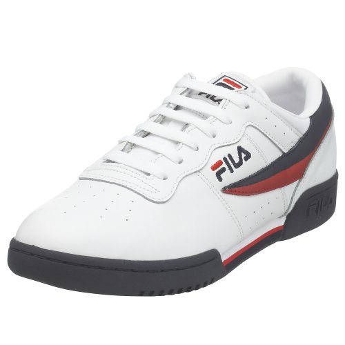 Fila Men's Original Vintage Fitness Shoe,White/Navy/Red,9 M