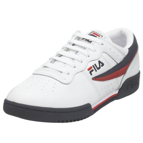 Fila Men's Original Vintage Fitness Shoe,White/Navy/Red,9 M