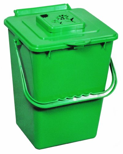 Exaco Trading ECO-2000 2.4 Gallon Kitchen Compost Waste Collector