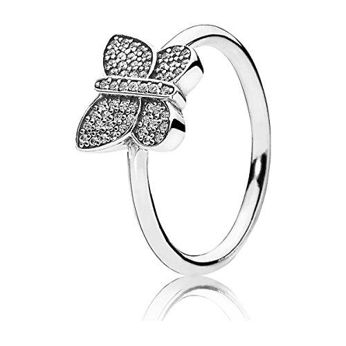 anillo pandora en plata de ley