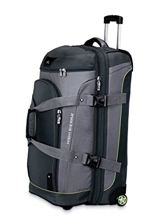 High Sierra 32 Drop Bottom Wheeled Duffle by High Sierra