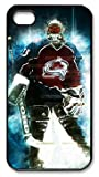 Patrick Roy Colorado Avalanche #33 NHL Sports Custom PC Black iphone 4/4s Case by Custom4you at Amazon.com