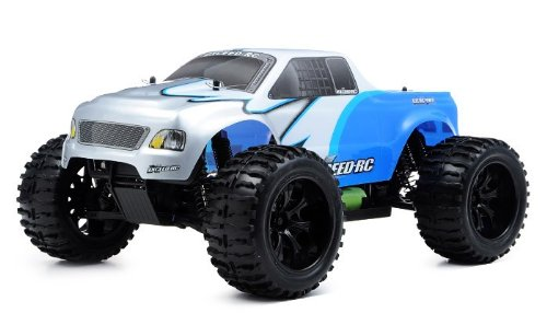 1/10 2.4Ghz Exceed Rc Electric Infinitive Ep Rtr Off Road Truck Fire (Blue)
