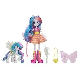 Mi pequeño Pony. Chicas Equestria. Celestia