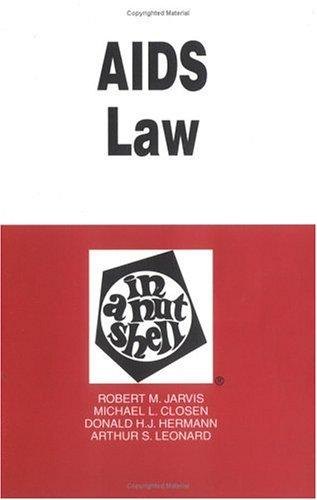AIDS Law in a Nutshell (Nutshell Series)