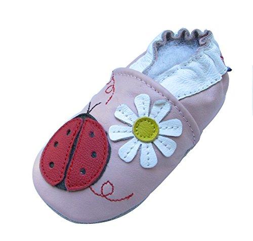 Ladybug Baby Shoes front-649076
