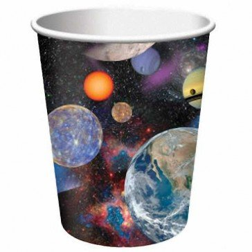 Creative Converting BB375533 Space Blast 9oz Cups -8 Pack
