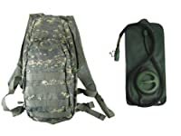 Military Camo ACU Hydration Pack Backpack 2.5 Liter (84oz) Bladder from Condor Outdoors