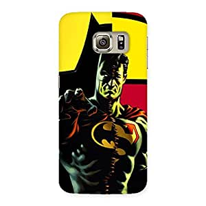 Two Heros Back Case Cover for Samsung Galaxy S6 Edge Plus
