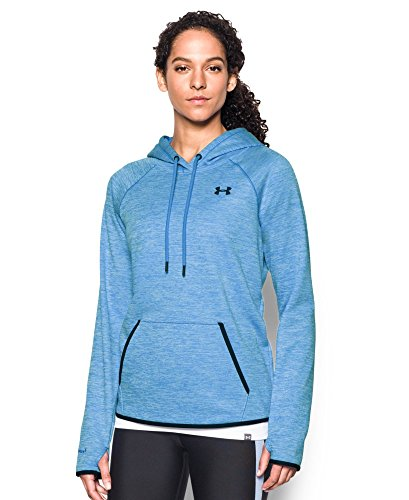 Under Armour Women's Storm Armour Fleece Icon Twist Hoodie, Water (464), Small