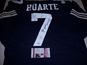 John Huarte Autographed Jersey - heisman Jsa coa - Autographed College Jerseys by Sports+Memorabilia