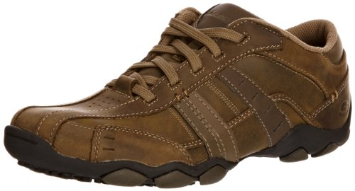 Mens Skechers Vassell Sport Casual 11 M, Brown
