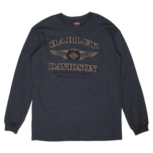 110th Anniversary Rugged Machine Sweat Shirt - Harley Davidson Men's