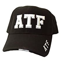 ATF Law Enforcement Hat Cap - Black
