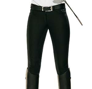 PFIFF 100971-60-36 CLIMA Pantalon d'équitation Femme Noir 36