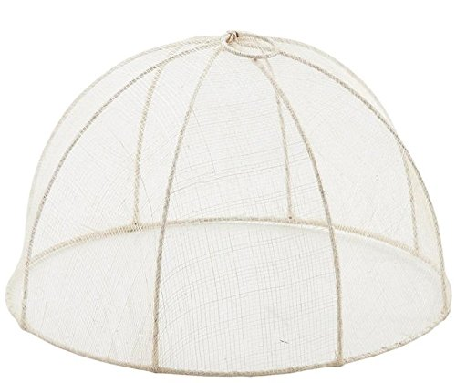 Cloche à fromage ronde en sinamay