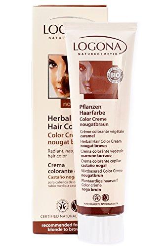 Logona Herbal Hair Color Cream Nougat Brown 5.07 Ounce