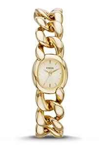 Fossil Women's ES3460 Curator Analog Display Analog Quartz Gold Watch