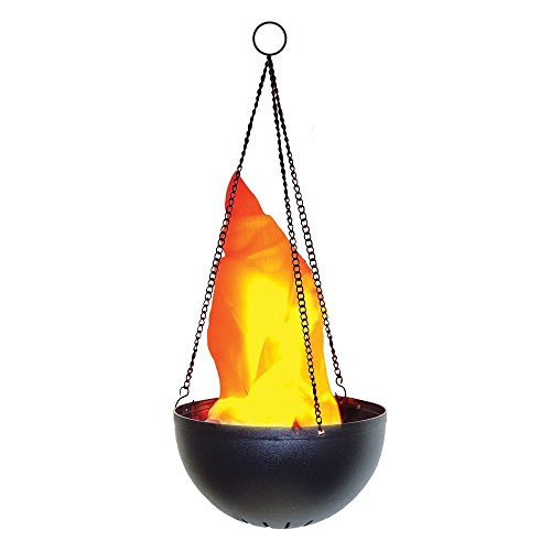 Hanging Flame Light - Great Halloween Decoration