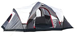 Lightspeed Outdoors Ample 6-Person Instant Tent, Gray