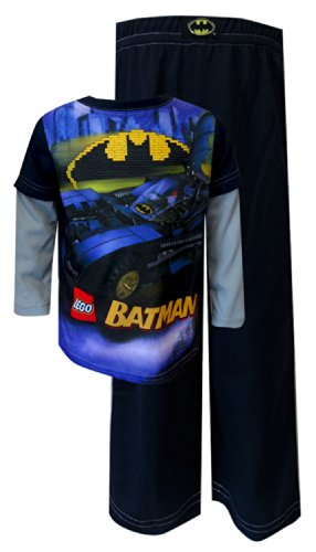 Lego Batman - Batmobile Action Pajamas For Boys (2T) front-549896