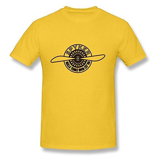 hipi-gox-van-mens-luxury-f1-super-sports-car-spyker-c8-brand-logo-tees-yellow