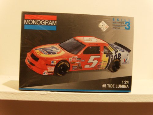 Monogram #2440 #5 Tide Lumina Ricky Rudd 1/24 kit