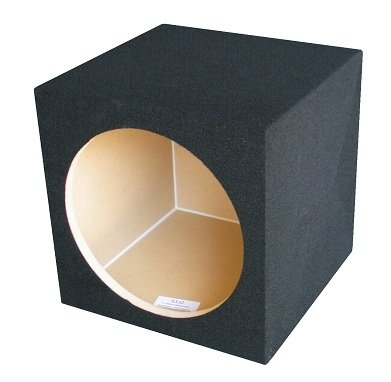 Ground Shaker S110 10-Inch Single Square Sealed Enclosure Subwoofer Box