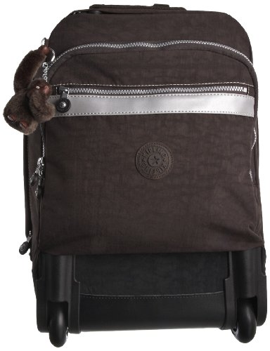 Kipling Women's New Runner L Wheeled Backpack Expresso Brown K09409740