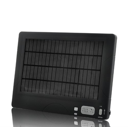 54500Mah, 4W High Capacity Portable Solar Battery And Charger - Capable Of Charging 17 Different Laptops & Samsung, Nokia, Sony Ericsson Phones