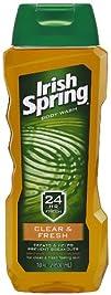 Irish Spring Body Wash Clear and Fresh Skin 18 Fluid Ounce