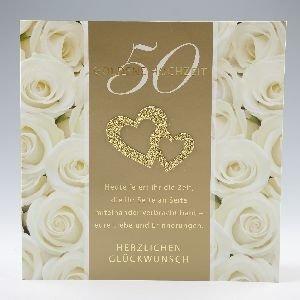Einladung Goldenen Hochzeit zum genial einladung design