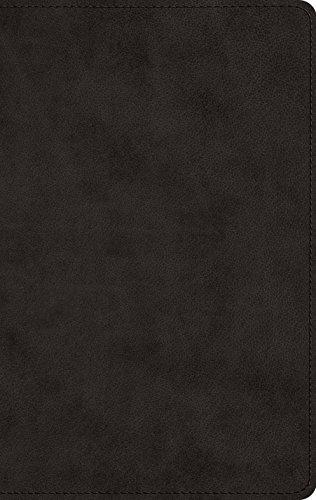 ESV Men's Devotional Bible (TruTone, Black)