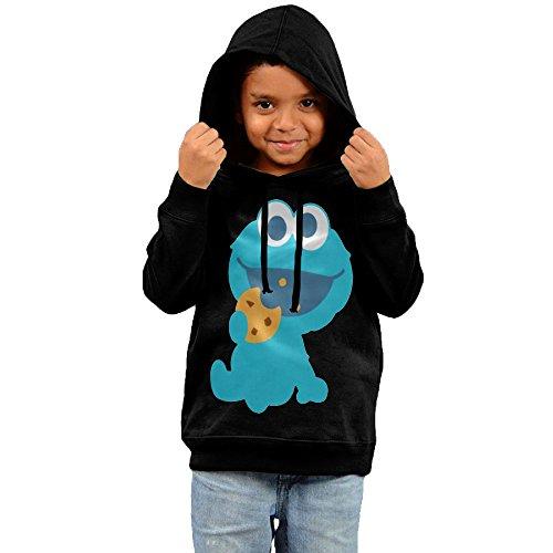 Kid Cookie Monster Eating Cookie Hoodie Sweatshirt