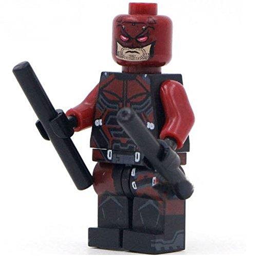 DareDevil SuperHeroes DIY Building Blocks Sword Minifigure, 4.5cm (Lego Custom Iron compare prices)