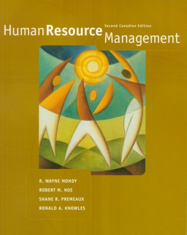 Human Resource Management in Canada
